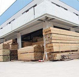 防腐木生產