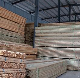 防腐木市場