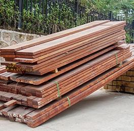 戶外硬木木材
